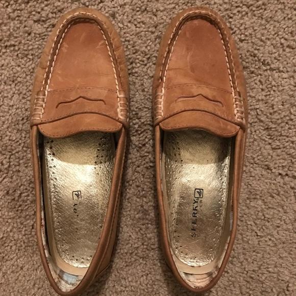 Sperry womens loafers EUC! M 5a864e5e3afbbdd8a8d65f38